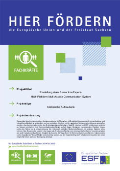 Einstellung eines Senior InnoExperts - Multi-Plattform Multi-Access Communication System