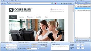 Web task editor